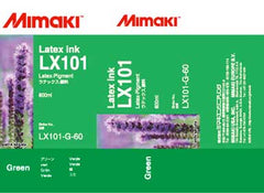 Mimaki LX-101 Latex Green ink 600ml (MPN: LX101-G-60)