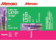 Mimaki LX-101 Latex Magenta ink 600ml (MPN: LX101-M-60)