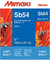 Mimaki Sb54 Light Blue ink 440ml (MPN: SB54-LBT-44-1)