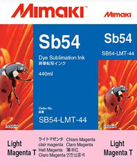 Mimaki Sb54 Light Magenta ink 440ml (MPN: SB54-LMT-44-1)