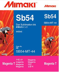 Mimaki Sb54 Magenta ink 440ml (MPN: SB54-MT-44-1)