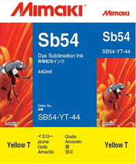Mimaki Sb54 Yellow ink 440ml (MPN: SB54-YT-44-1)