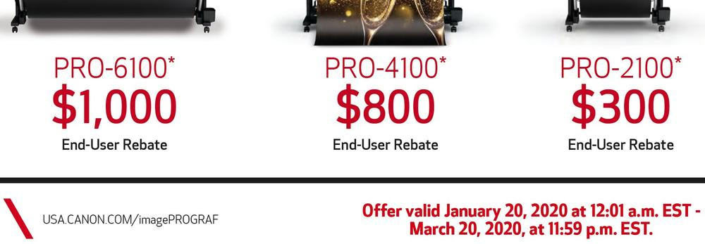 Lowest prices on Canon imagePROGRAF printers