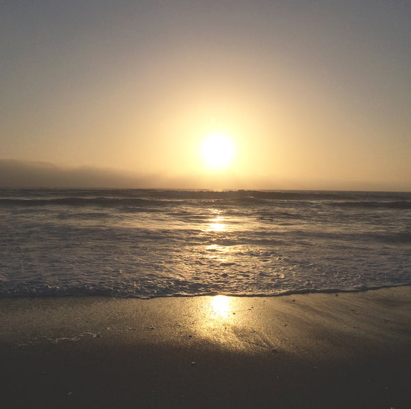 Moonstone Beach, CA sunset. Photo by: Misa Hamamoto