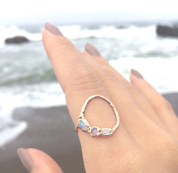 Misa Jewelry's Evolve Mermaid Ring