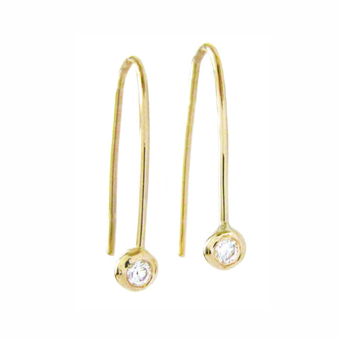 Stardust Diamond Earrings
