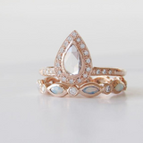Feather Tiara Ring