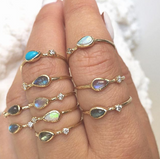 Guiding Light Opal Ring