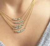 Journey Treasure Mermaid Necklace