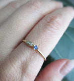 Sprout Sapphire Ring