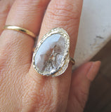 Diamond Slice Hidden Cove Ring