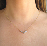 Petal Moonstone Necklace