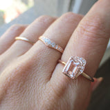 Reflection NS Morganite Ring