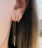 Scenic Curve Earrings