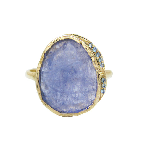 Tanzanite Hidden Cove Ring