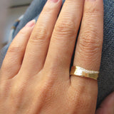 Trail White Diamond 6mm Ring