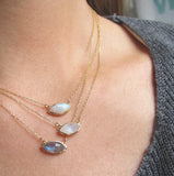 Tribe Moonstone Necklace