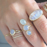 Moonbeam Ring