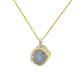 Mini Cove Labradorite Necklace