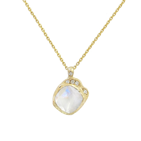 Mini Cove Moonstone Necklace