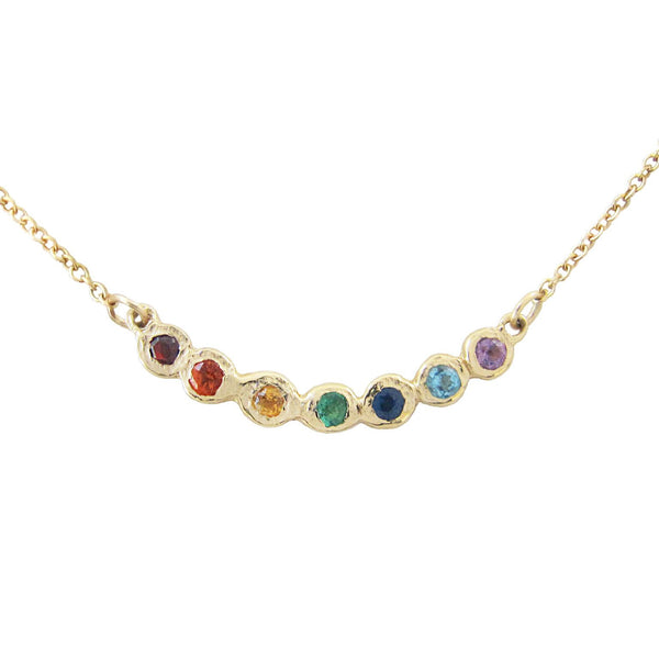 Tauri Rainbow Necklace