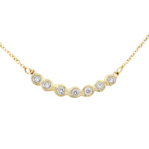 Tauri Diamond Necklace