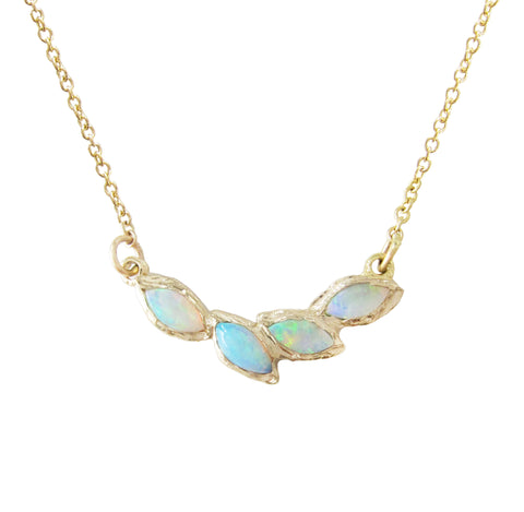 Petal Opal Necklace