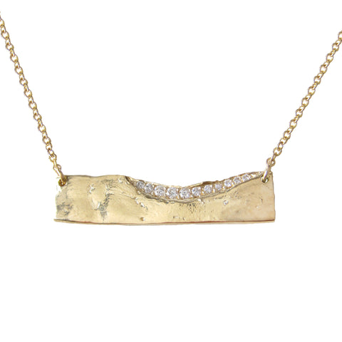 Trail Diamond Necklace