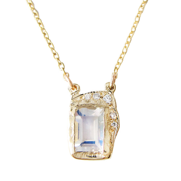 Reflection Moonstone Necklace