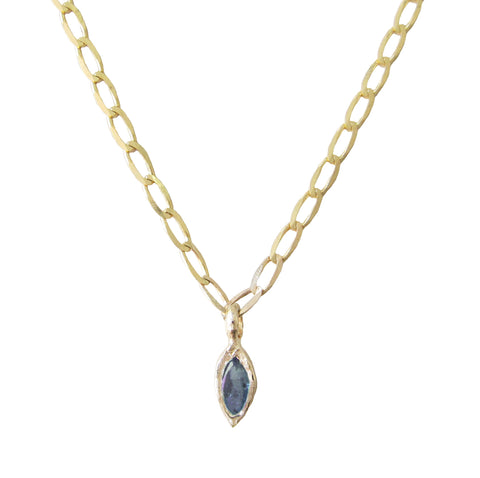 Bud Sapphire Necklace