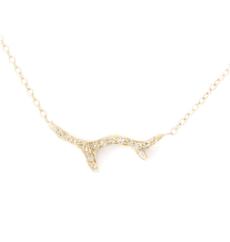Branch Diamond Necklace