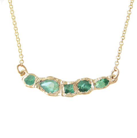 Journey Treasure Emerald Necklace