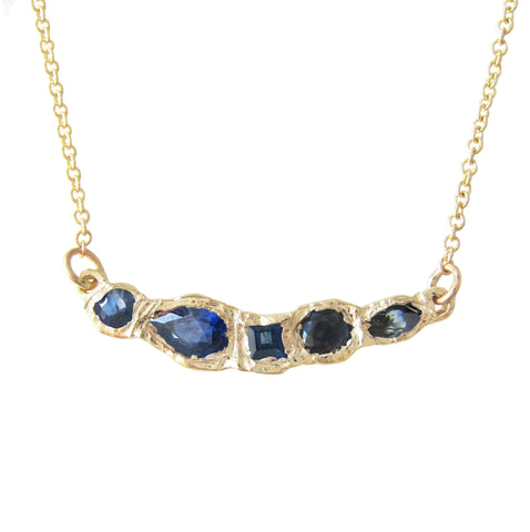 Journey Treasure Sapphire Necklace