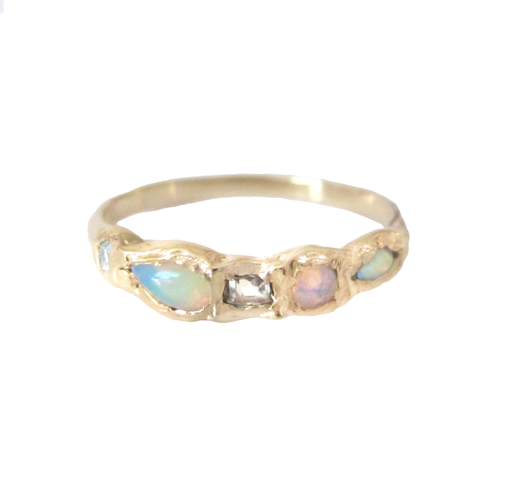 mermaid and rings alex unspecified engagement wrap ring ani