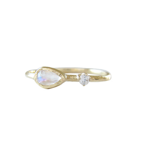 Guiding Light Moonstone Ring