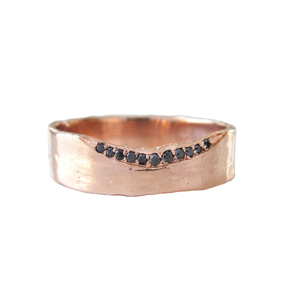 Black Diamond Trail 6mm Ring