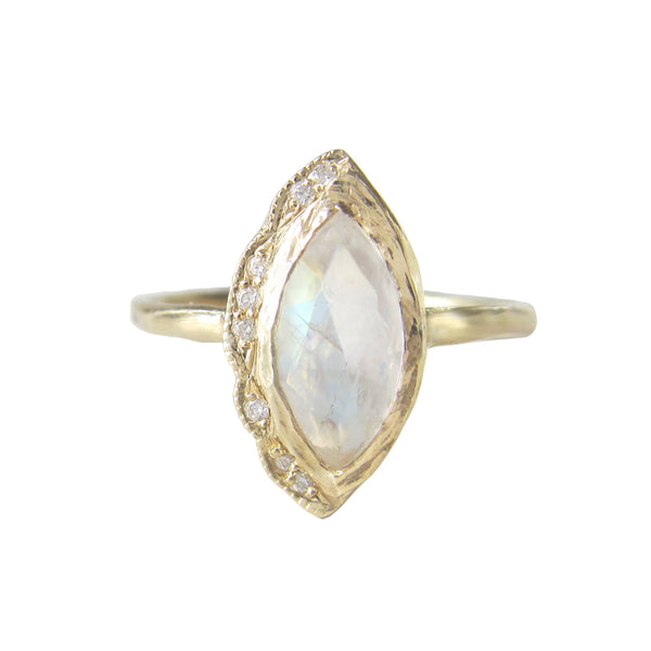 Native Moonstone Ring
