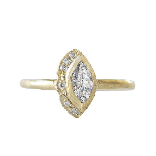 Petite Native Diamond Ring
