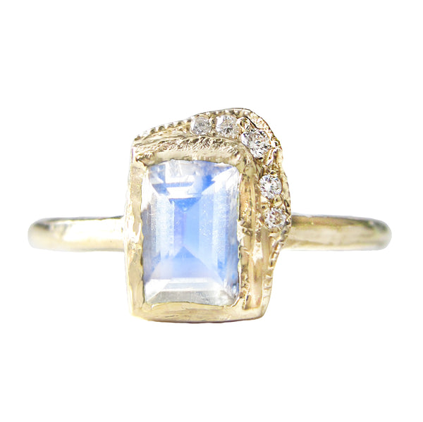 Reflection NS Moonstone Ring