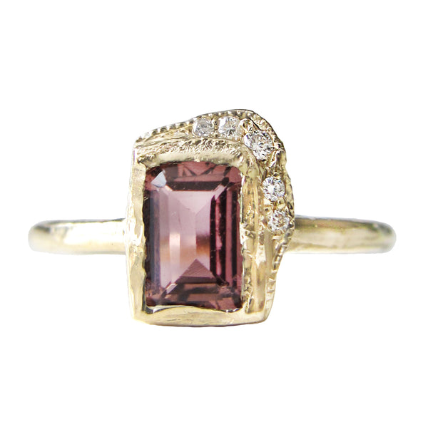 Reflection NS Pink Tourmaline Ring