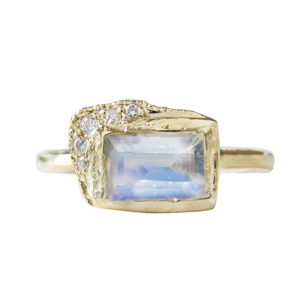 Reflection EW Moonstone Ring