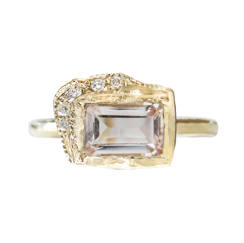 Reflection EW Morganite Ring