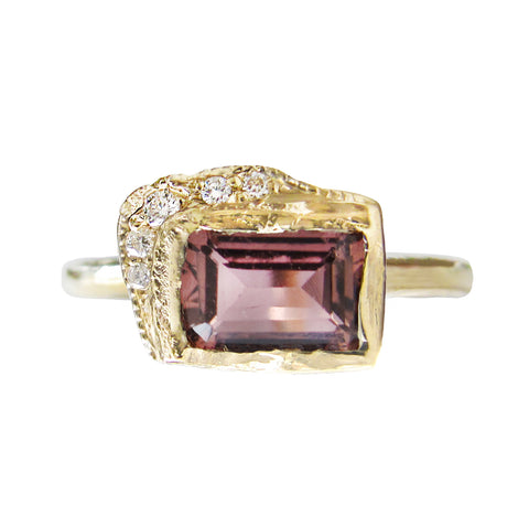 Reflection EW Pink Tourmaline Ring