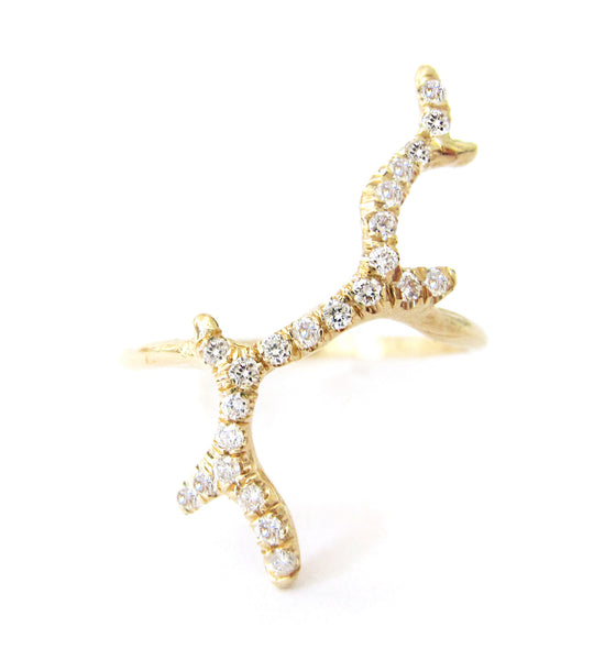 Branch Diamond Ring