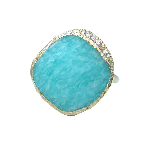 Amazonite Cove Ring