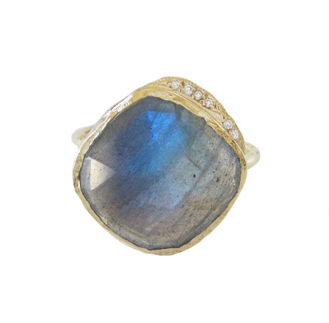 Labradorite Cove Ring