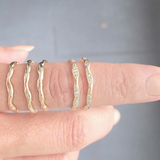 Wave Eternity Ring