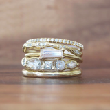 Tapered Baguette Diamond Ring
