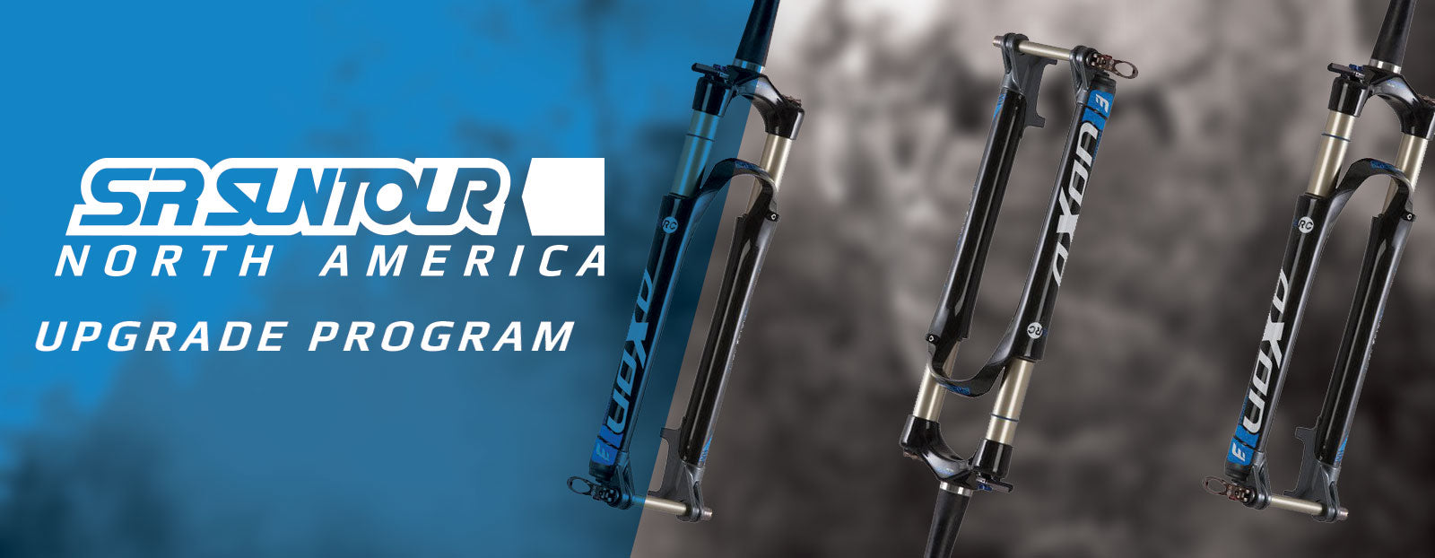 SR SUNTOUR North America Upgrade Program