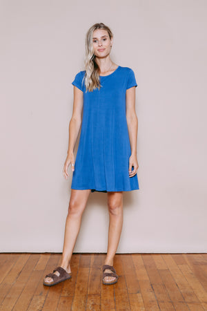 Jules - Tee Shirt Dress Indigo